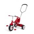 紅騎士二合一三輪推車(寬胎)