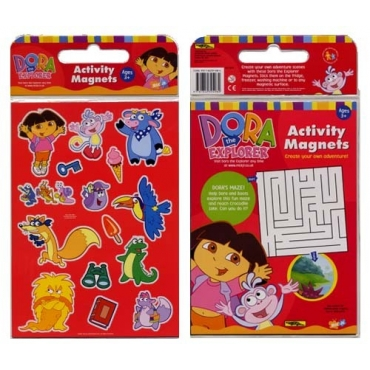 小小探險家朵拉磁貼遊戲包-Dora the Explorer Activity Magnets--DORA