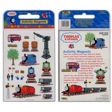 湯瑪士小火車磁貼遊戲包-Thomas & Friends Activity Magnets