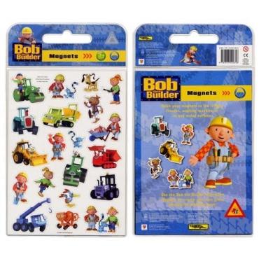 建築師巴布磁貼遊戲包-Bob the Builder Magnets