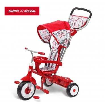 紅瓢蟲四合一三輪推車