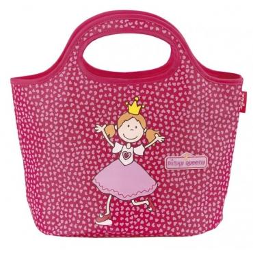 兒童手提袋-粉紅女王