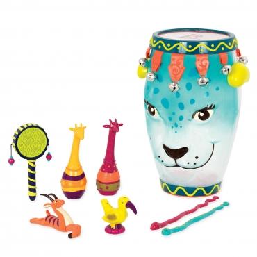 非洲豹戰鼓