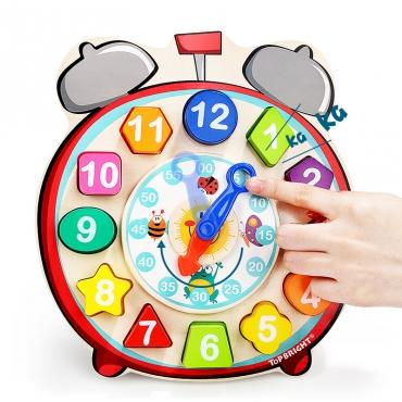 數字積木認知時鐘