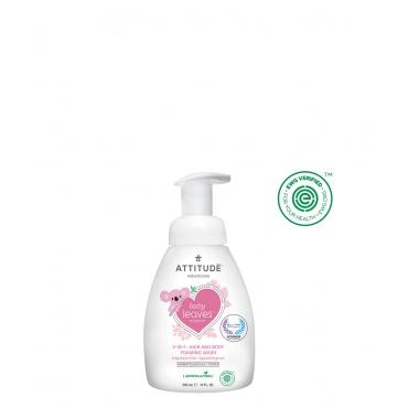 嬰幼兒2合1泡沫洗髮沐浴露-無香味 295ml