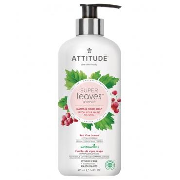 Super leaves™洗手乳-紅色藤葉 473ml (效期:2021/07/23)