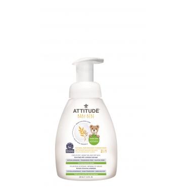 寶寶敏感肌膚2合1泡沫洗髮沐浴精 250ml