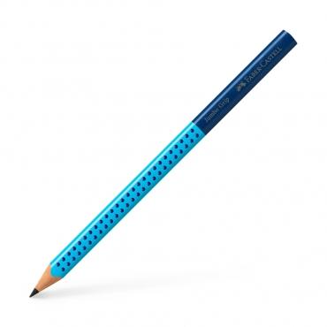 學齡大三角粗芯雙色鉛筆-藍色