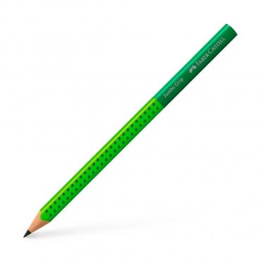 學齡大三角粗芯雙色鉛筆-綠色