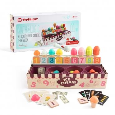 數字加減冰淇淋遊戲組