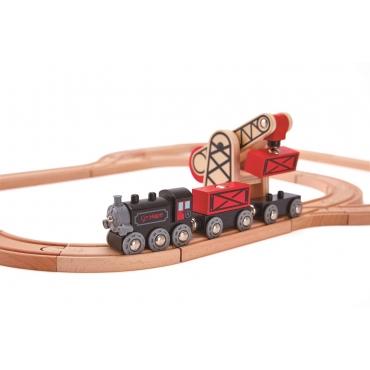 Hape蒸氣貨運列車組