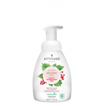 Super leaves™泡沫洗手乳-紅色藤葉 295ml